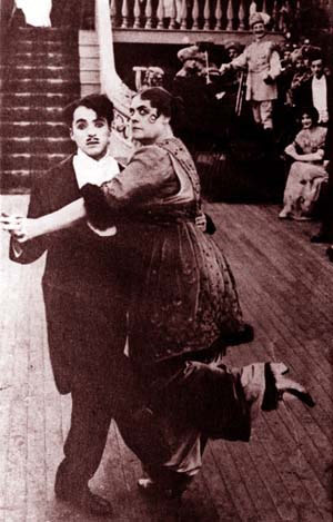 Dressler with Chaplin in Tillie