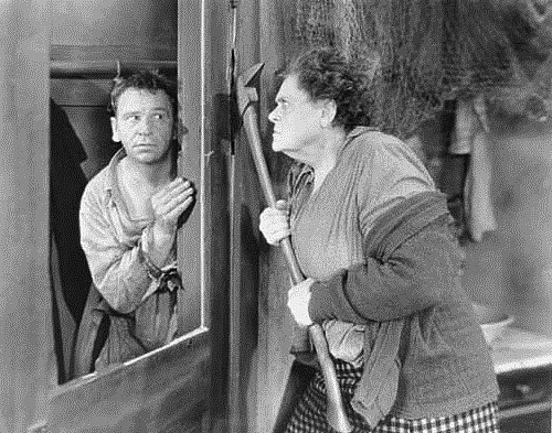 Dressler with Wallace Beery